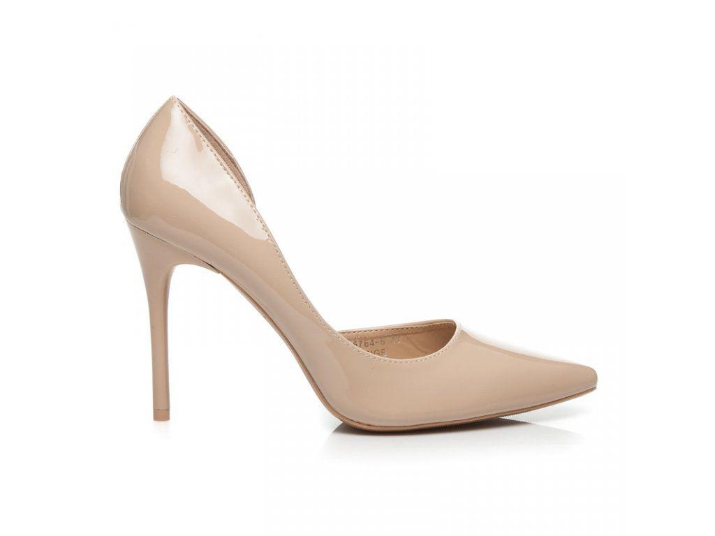 3ab4a3e89acc0 Lakované béžové lodičky J5764-6BE | summer :) | Stiletto heels ...