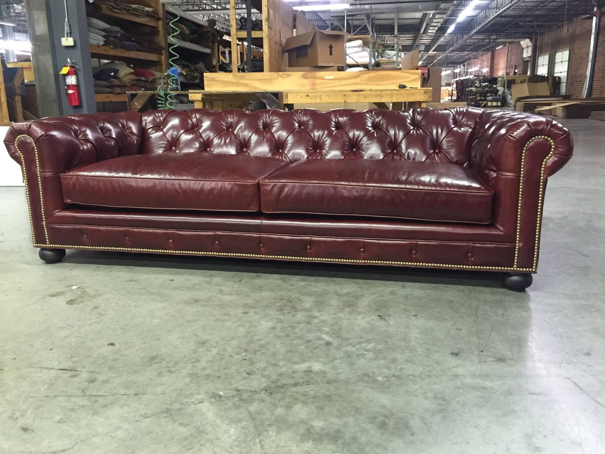 The Fitzgerald Custom Classic Chesterfield Sofas More