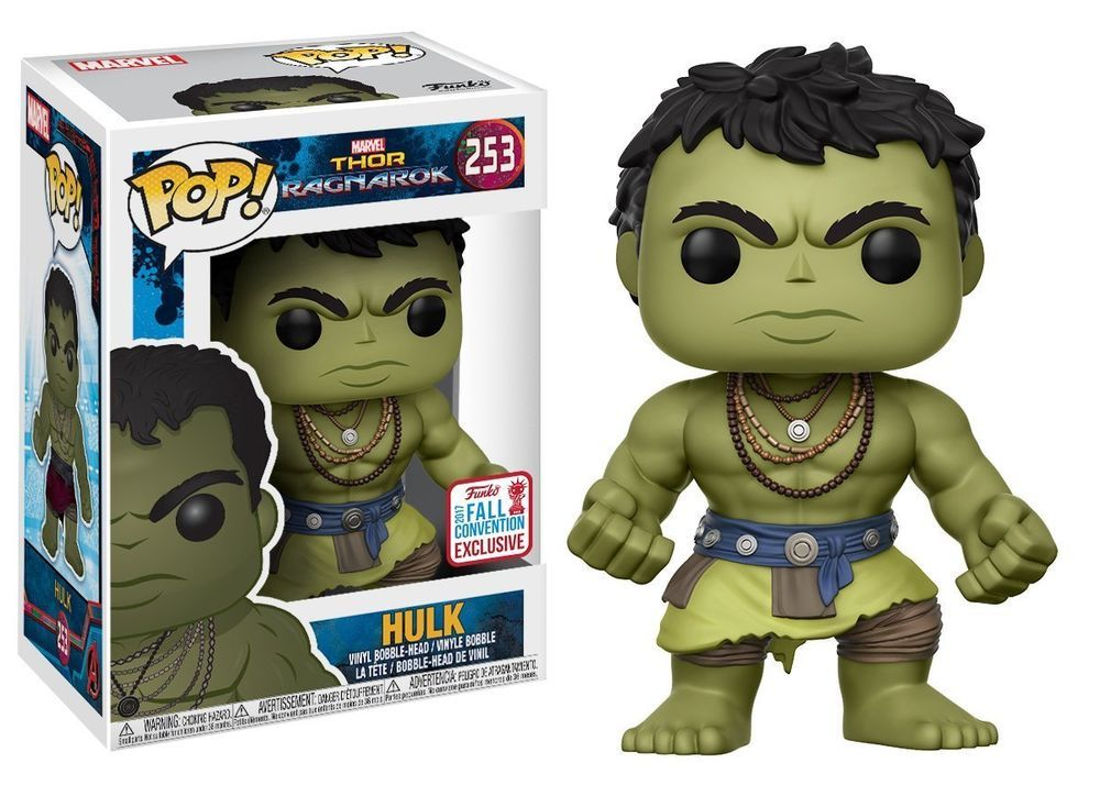 Funko Pop Marvel Thor Ragnarok-Casual Hulk Fall Convention