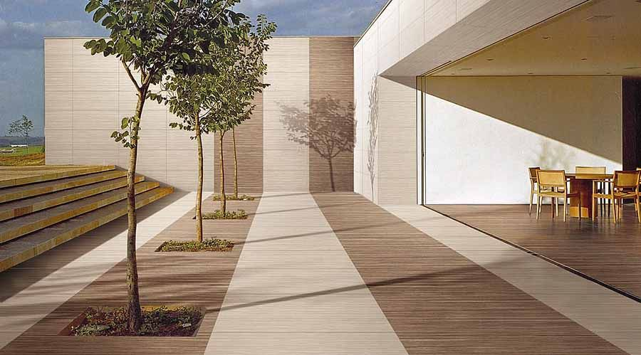 Thin Porcelain Tiles For Exterior Walls And Floors Exterior Cladding Exterior Tiles Cladding
