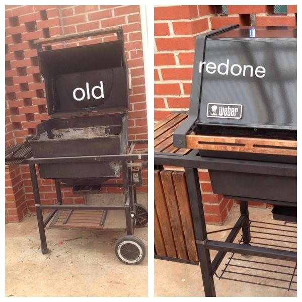 So Excited To Use My Refurbished Weber Grill It Is Like New Weber Grill Bbq Grill Smoker Diy Yard