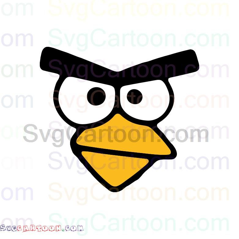 Angry Birds Eyes And Beak Svg Dxf Eps Pdf Png Clipart Design Png Poster Prints
