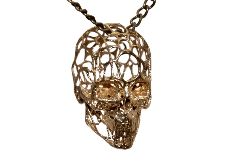 Human skull wireframe design necklace brass bronze white bronze 925 human skull wireframe design necklace brass bronze white bronze 925 sterling silver skull pendant necklace by aloadofball Images