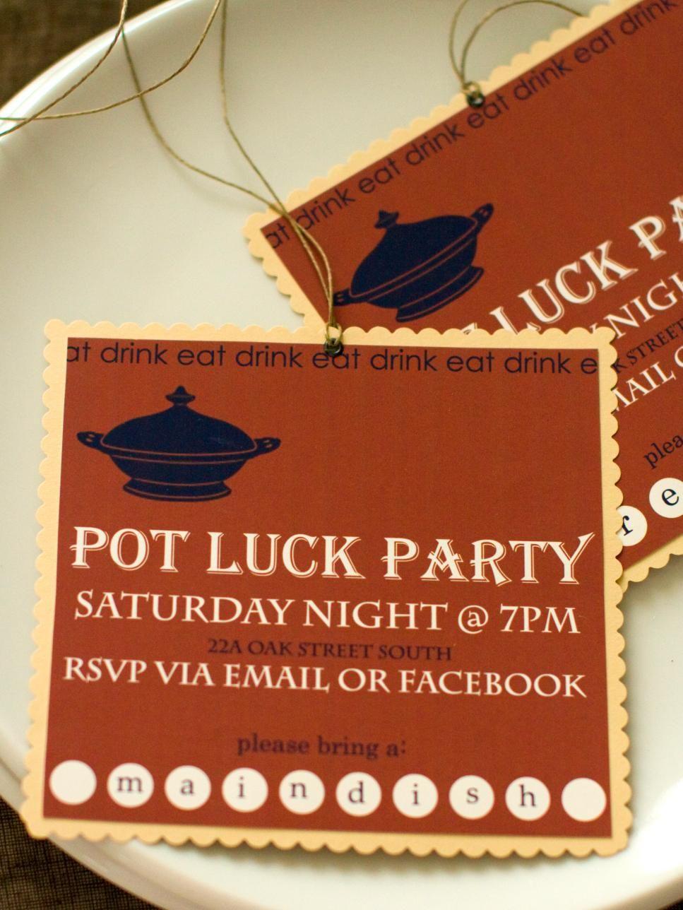 Ideas For A Potluck Dinner Party Part - 37: Potluck Dinner Party: Recipes, Decor And Entertaining Ideas