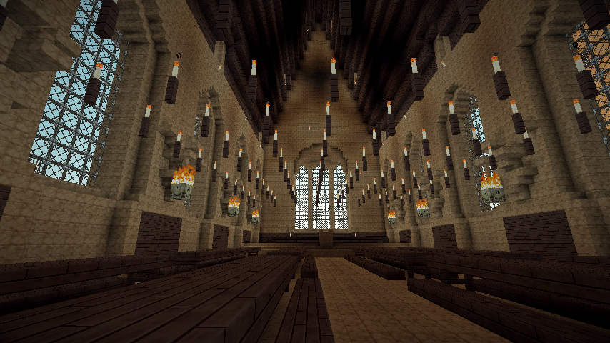 The Wizarding World Hogwarts In Minecraft 1 1 Scale Amazing Screenshots Show Your Creation Minecraft Forum Wizarding World Minecraft 1 Hogwarts
