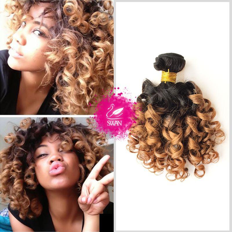 Swan Hair 9a Grade Human Hair Extension 3 Bundle Indian Spiral Curly