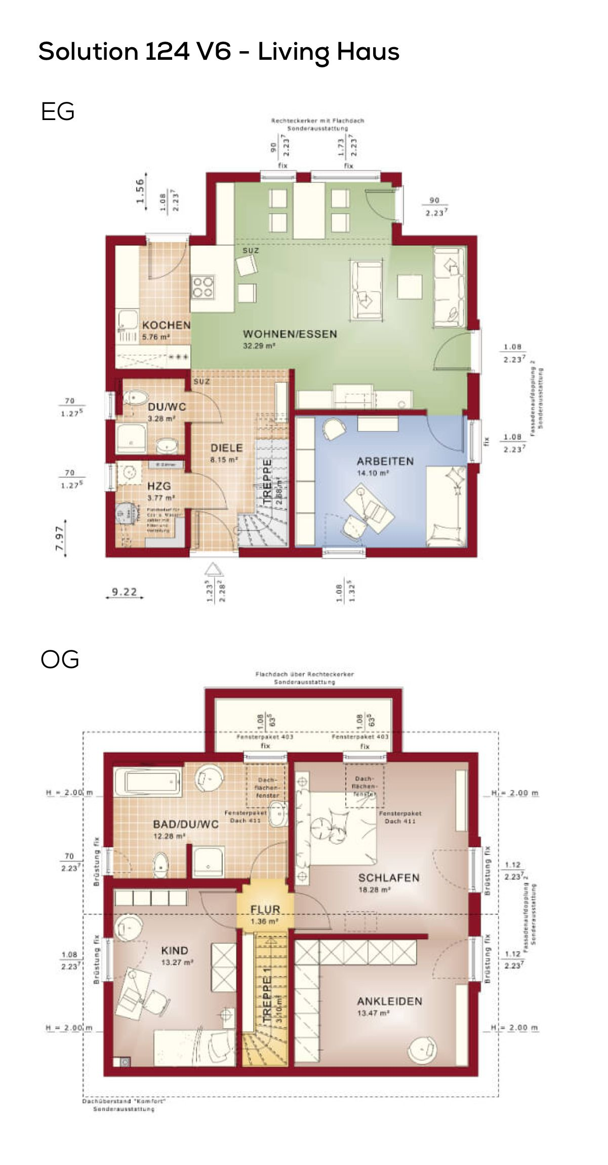 Grundrisse Einfamilienhaus Modern Mit Satteldach Haus Grundriss