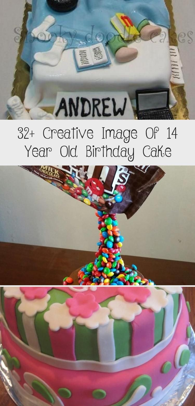 32 Creative Image Of 14 Year Old Birthday Cake In 2020 Cool