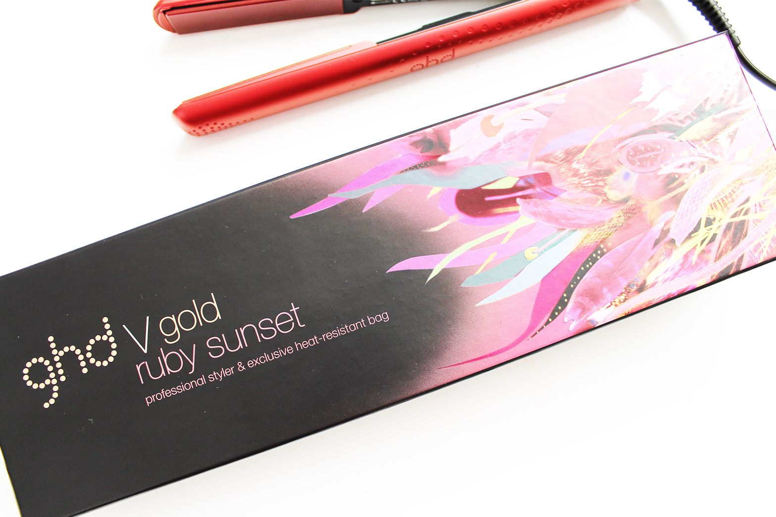 Get Red Carpet/Ball Ready with ghd V Ruby Sunset Styler - CassandraMyee #ad