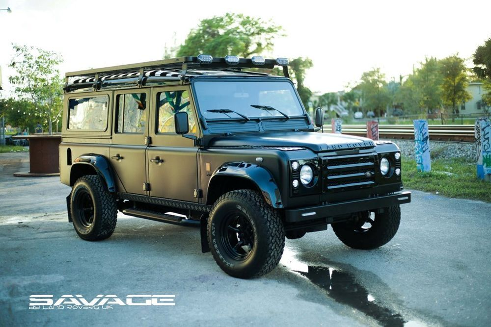 Land Rover Defender D 110 Custom Build To Order Special Offer Land Rover Land Rover Defender Defender