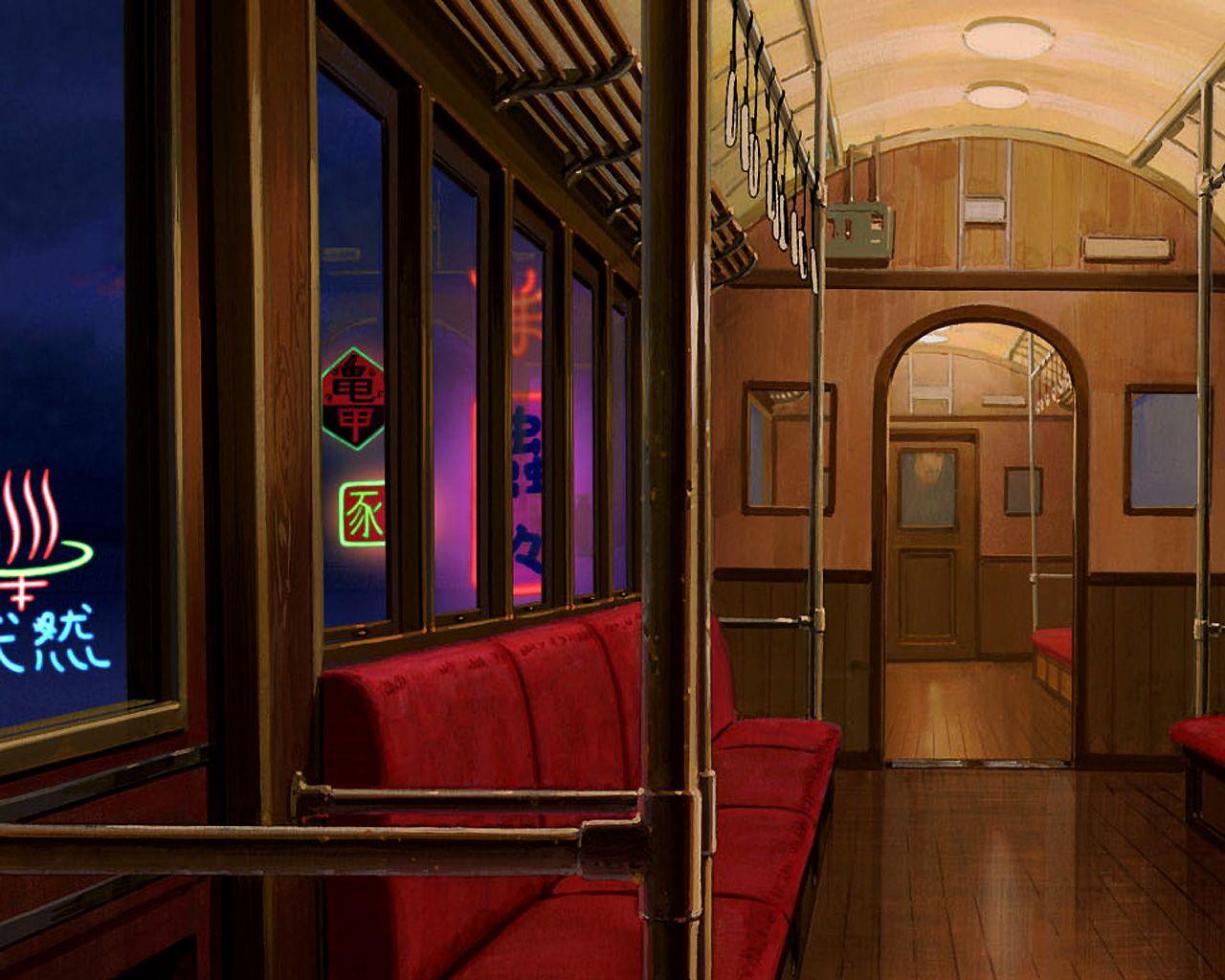Spirited Away Wallpaper Train Wallpapers For Desktop And Mobile Spirited Away Wallpaper Studio Ghibli Background Studio Ghibli