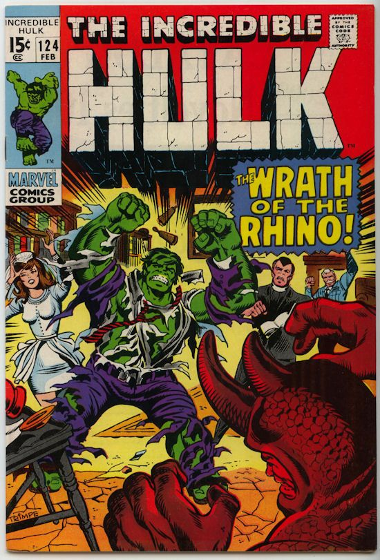The Incredible Hulk Comics | The Incredible Hulk Comic #124 (1970) - $9.99 : Comic MegaStore Corp ...