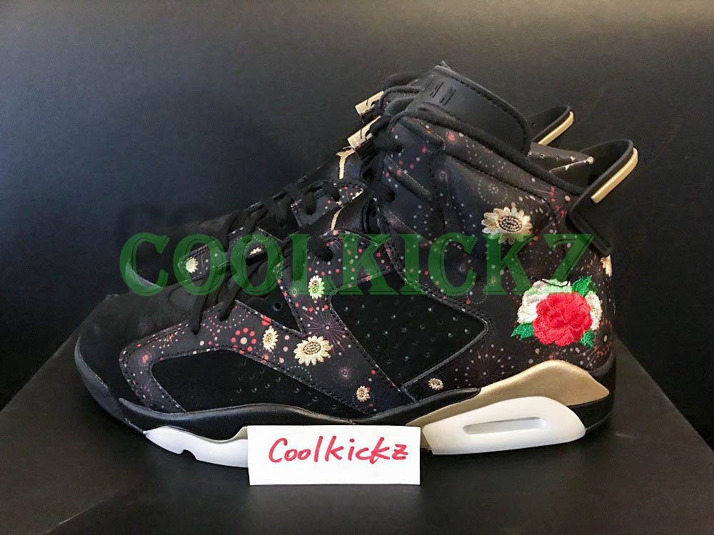 d02df6180761 SHIP NOW Nike Air Jordan 6 Retro CNY Chinese New Year 8-14 Black Gold AA2492 -021  Nike  BasketballShoes