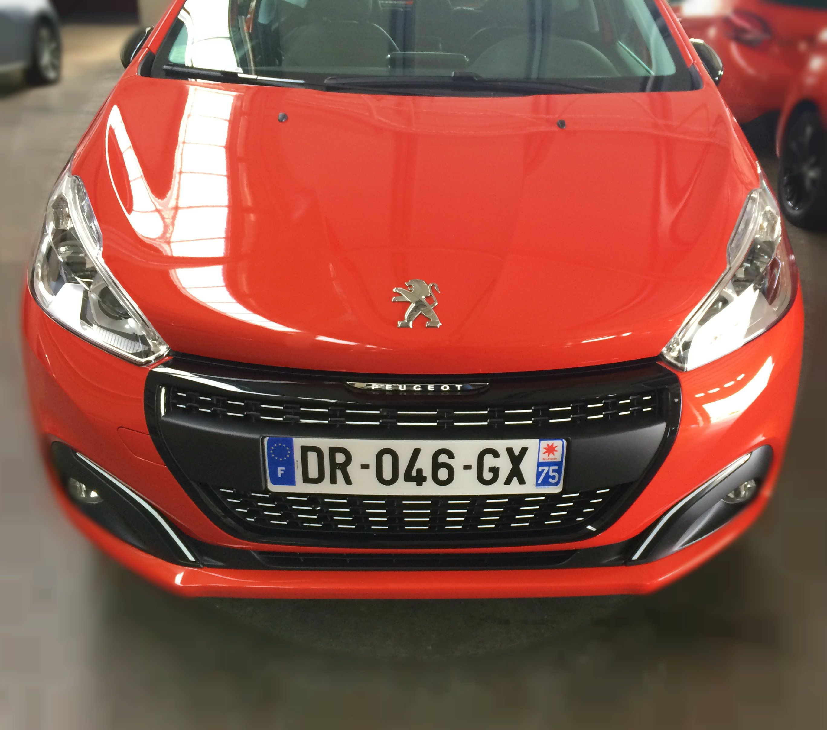The New Peugeot 208 is available in 13 colours, including this ...