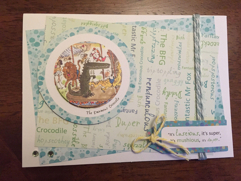 Cardmaking Roald Dahls