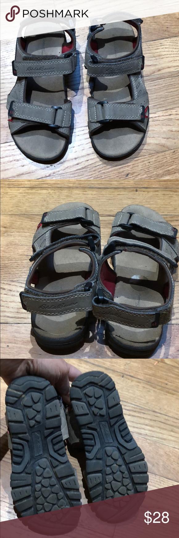 Eddie Bauer boys suede sandals size 131 Suede sandals