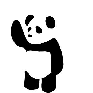 panda vector by jwaffle deviantart com on deviantart 随心采 in