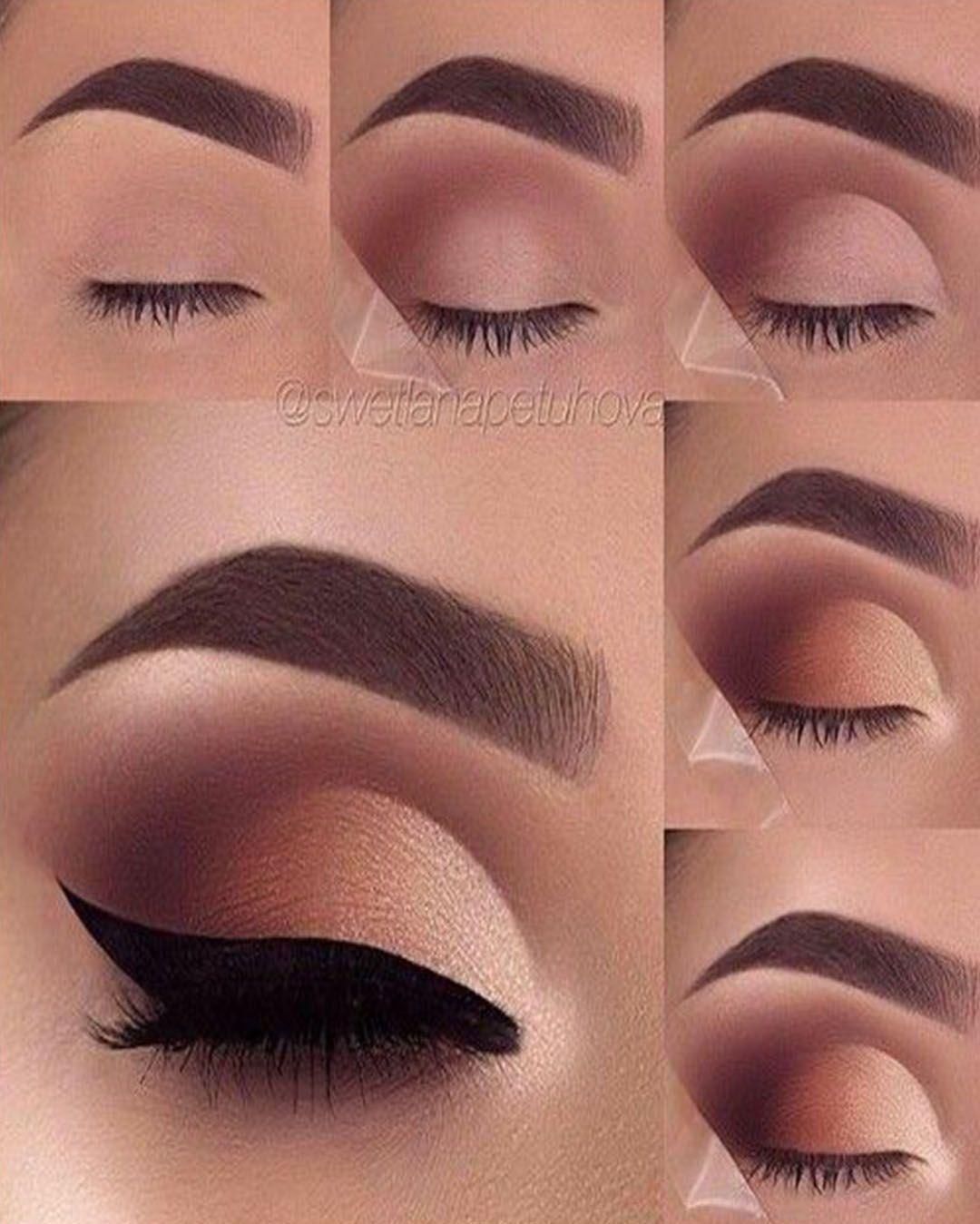 Maquillaje De Ojos De Noche Paso A Paso Originales Y Elegantes Elsexoso Smokey Eye Makeup Eye Makeup Steps Eyeshadow Makeup