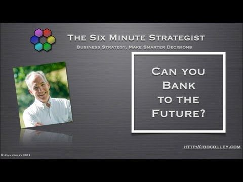 Can you Bank to the Future?  Simon Dixon has launched a new crowd funding site in the UK with some very interesting features which I describe in this video