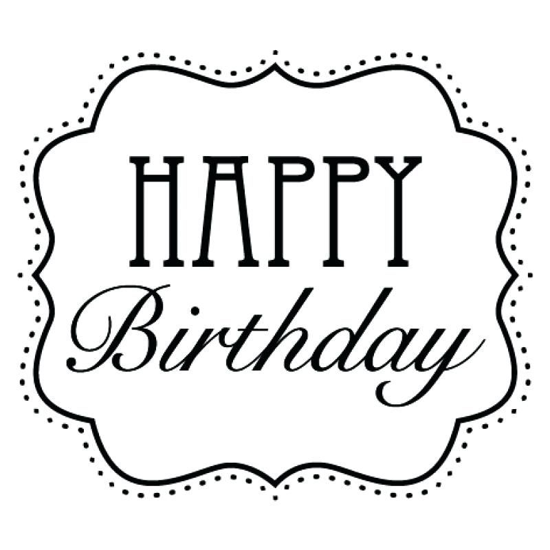 Image Result For Black And White Happy Birthday With Images