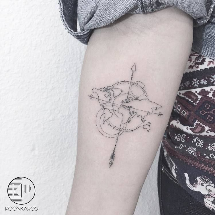 44 Fine Line Black And Grey Tattoos By Poonkaros Page 4 Of 4 Tattooadore Trendy Tattoos Tiny Tattoos Tattoos