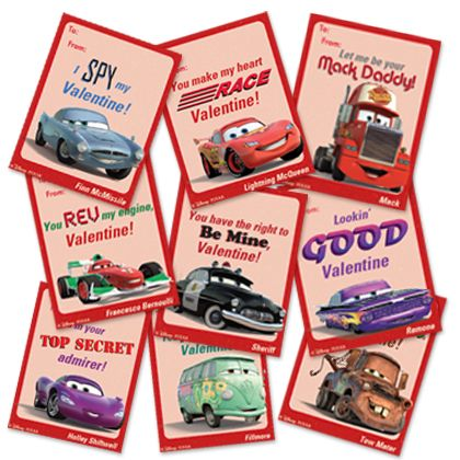 Homemade Valentines Day Card Ideas Free Cars Disney