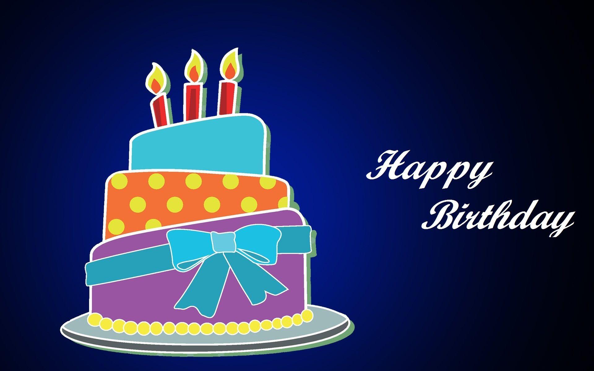 Blue Happy Birthday Wallpaper Free Download Hd Desktop Wallpapers 1080p Happy Birthday Wallpaper Happy Birthday Cards Diy Birthday Gifts For Him