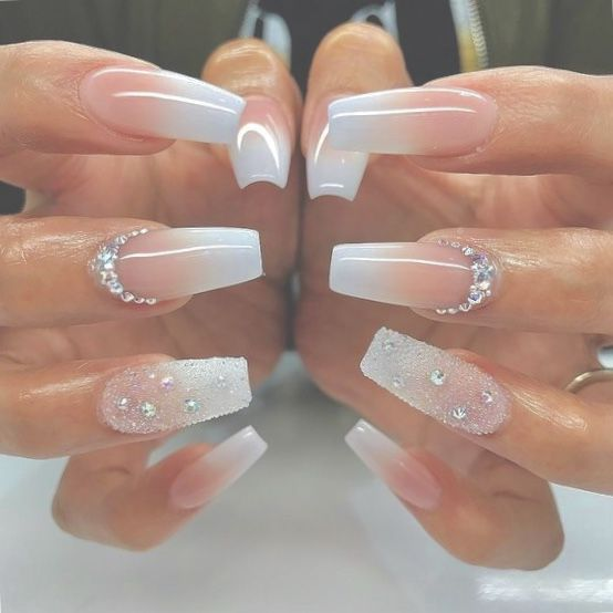 Truubeautys With Images Coffin Nails Designs Diamond Nail Designs Stiletto Nails Designs