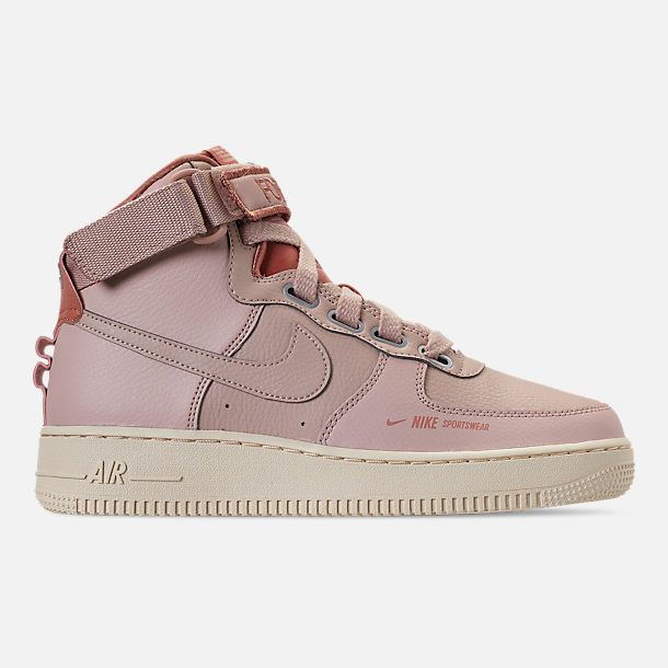 official photos 1ef14 56c83 Right view of Women s Nike Air Force 1 High Utility Casual Shoes in  Particle Beige Particle Beige Terra