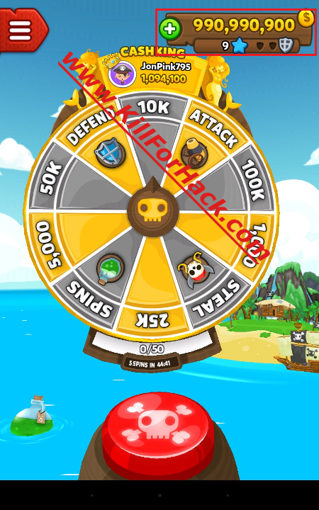 Pirate Kings Hack Cheats for iOS Android Devices