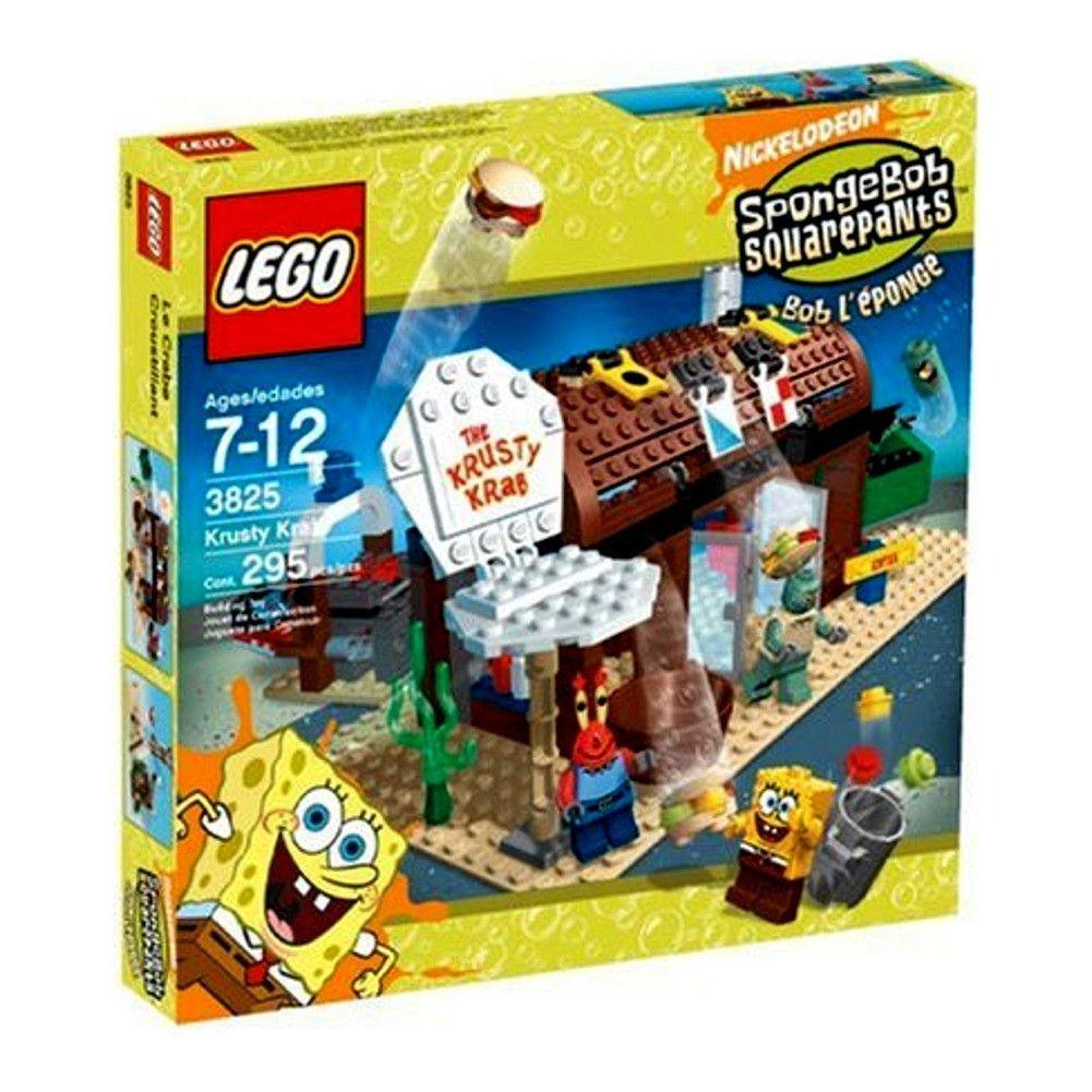 Spongebob squarepants bathroom accessories - Krusty Krab Nickelodeon Spongebob Square Pants Lego Set 3825