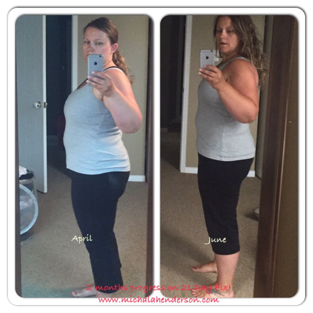 I lost 20lbs in 2 months doing 21 day fix and Shakeology! Come join me, as  I aim to lose another 20lbs!
