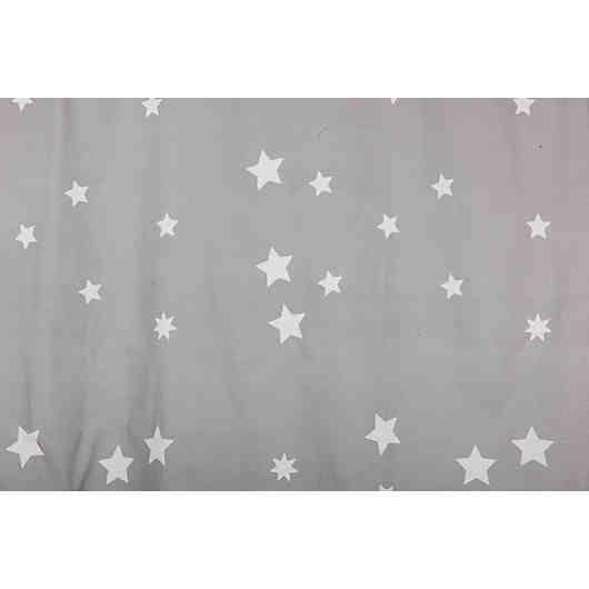 Epic Der h bsche Vorhang mit den niedlichen Sternen bringt eine kuschelige Stimmung ins Kinderzimmer ucbr