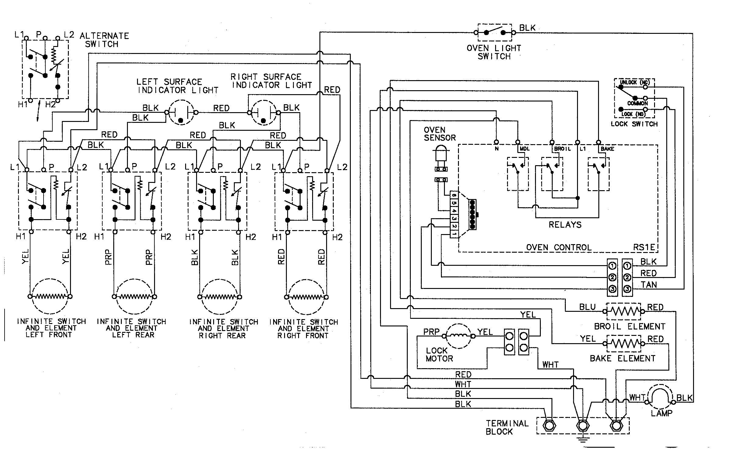 Ge Gas Range Wiring Diagram