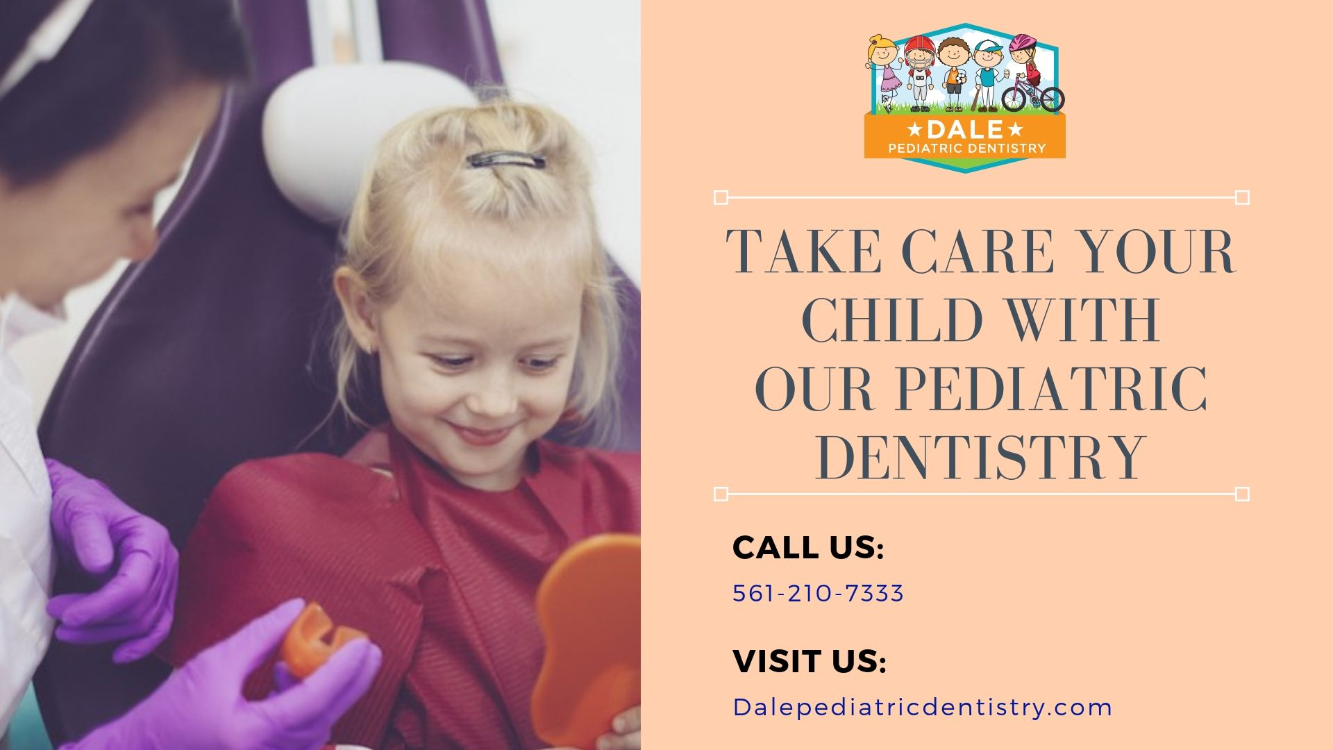 Are you looking for the perfect kids dentistry? At Dale