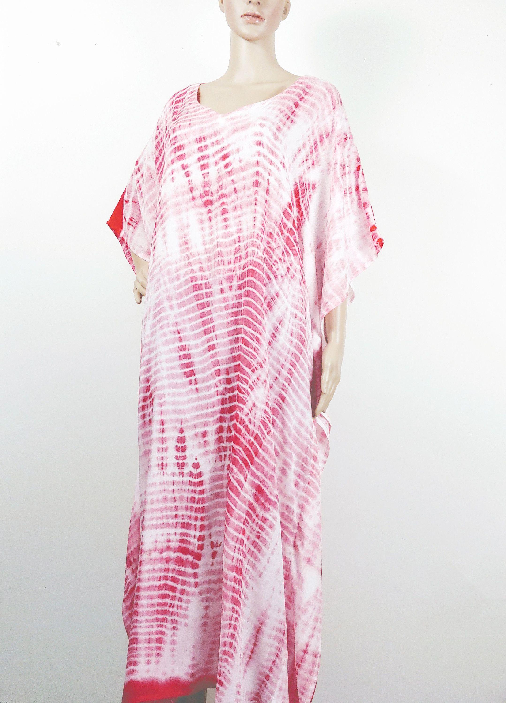 Kaftan Dress Kaftans Tie Dye Kaftan Cotton Kaftan Maroon Etsy Casual Silk Dresses Silk Dress Short Kaftan Dress [ 3000 x 2158 Pixel ]