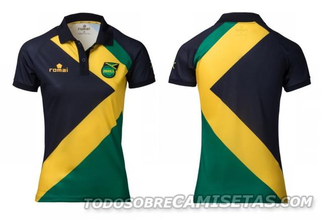 3156b04dab319 Hace unos meses la Selección de Jamaica presentó sus nuevos uniformes de la  mano de Romai