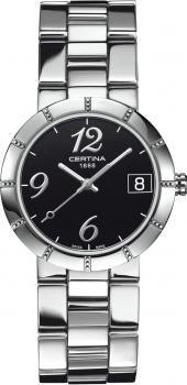 $322 Reloj mujer Certina caja pulsera acero inoxidable movimiento Eta Swiss Made cuarzo