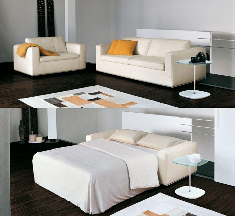 Schlafsofas für kleine Wohnzimmer \u2013 die kompakte Schlafcouch Möbel - designer gartensofa indoor outdoor