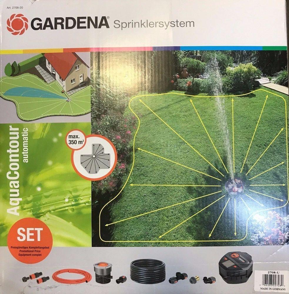Gardena Bewässerungssystem smart Water Control