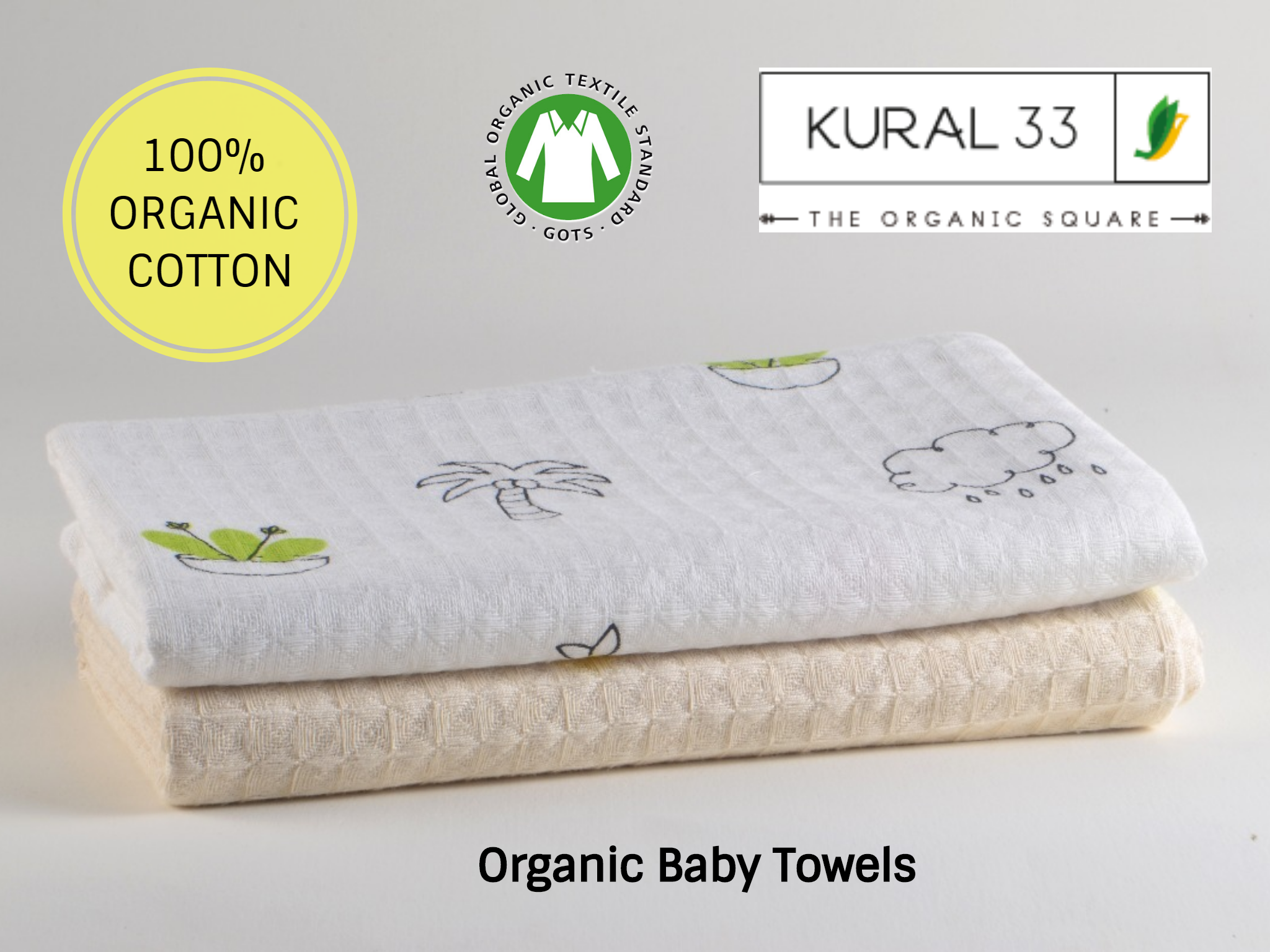 organic cotton baby towels soft and skin friendly distributors and