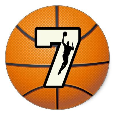 Number 7 Basketball And Player Sticker P217832821264996140b2o35 400 Jpg 400 400 Basketball Basketball Shirts Basketball Shirt Designs