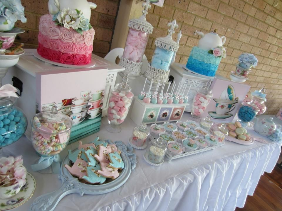 High tea baby shower ideas yahoo image search results for High tea party decorations