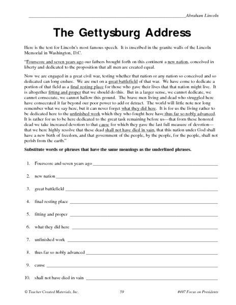6th Grade History Printable Worksheets