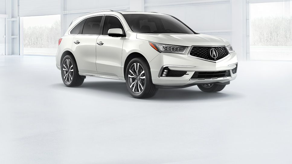 2019 Mdx Technology White Diamond Pearl Acura Mdx Luxury Suv Acura