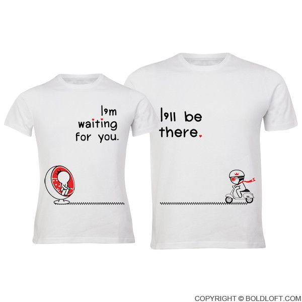 8f9d193344 Love is on the Way™ Couple T-Shirts | gift wish list | Matching ...