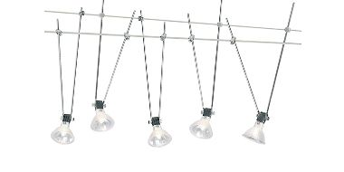 Ceiling Track Hi Wire Systems lv tension wire lighting systems