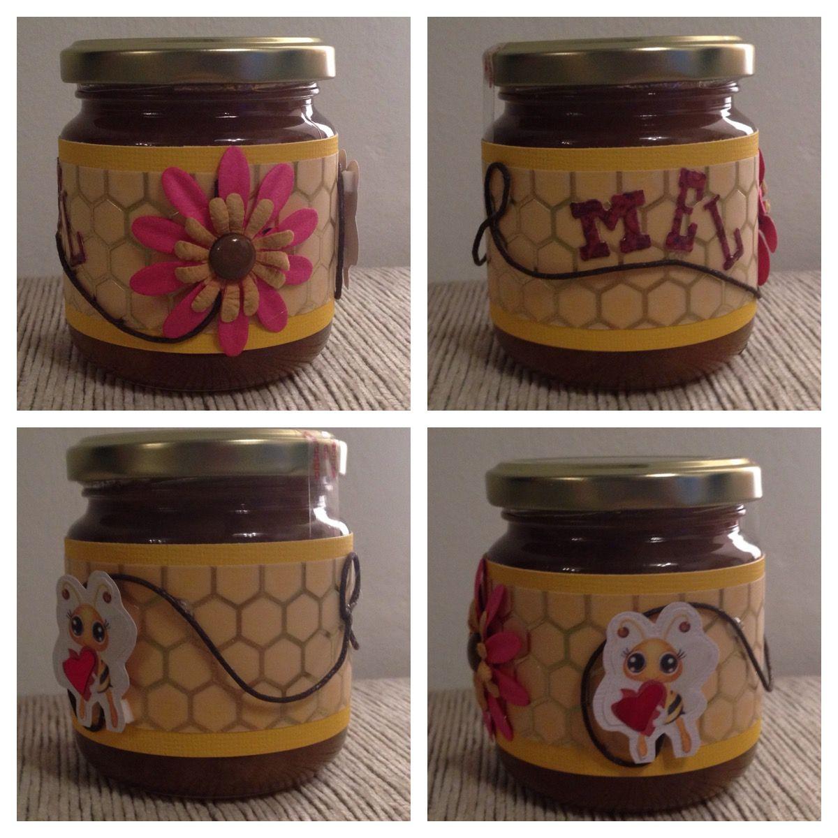 Etiqueta personalitzada per un pot de mel