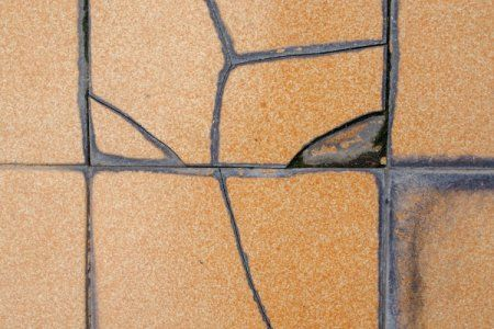 When you have a cracked wall tile, the only way to truly fix the ...