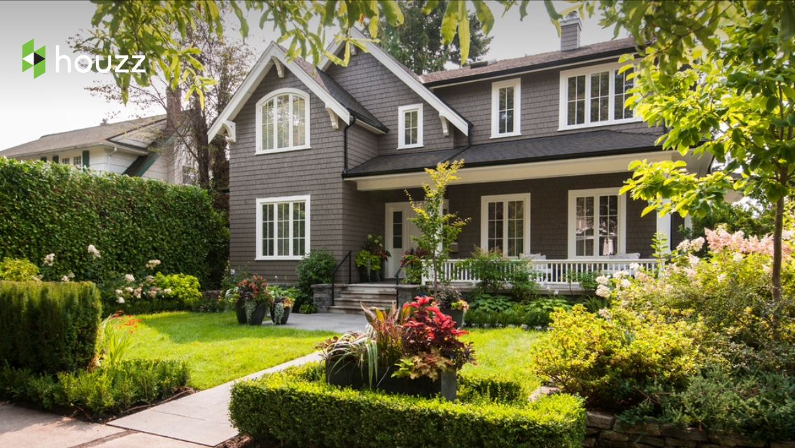Benjamin Moore Fairview Taupe Outdoor House Paint Exterior House Colors Shingle Exterior